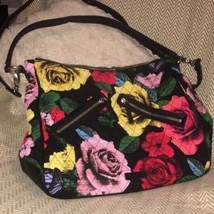 Beautiful VERA BRADLEY roses purse NWOT